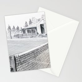 Tennis Life Stationery Cards