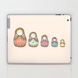 Matryoshka Madames Laptop & iPad Skin