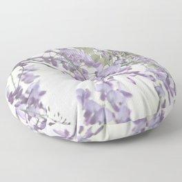 Wisteria Lavender Floor Pillow