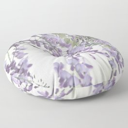 Wisteria Lavender Floor Pillow