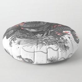 Sleeve tattoo Samurai Irezumi Floor Pillow