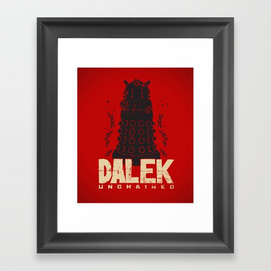 Dalek Unchained Framed Art Print