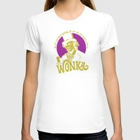 willy wonka T-shirts featuring Willy W quote v2 by Buby87