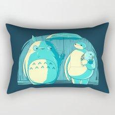 New Blue Neighbors Rectangular Pillow