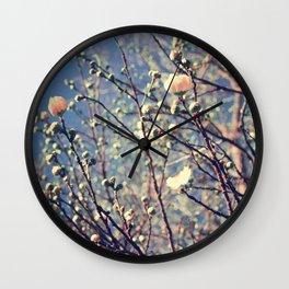 Flower series 01 Wall Clock