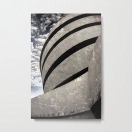 Guggenheim Museum   New York [Sky cut 441] Metal Print