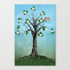 The Song of Spring Canvas Print