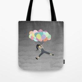 Balloon Ride Tote Bag