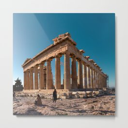 The Parthenon - Athens Metal Print