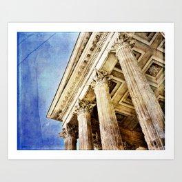 Ancient Roman Temple Art Print