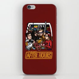 After Hours: The Shirt iPhone Skin