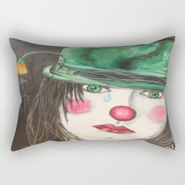 ANSICHTEN EINES CLOWNS Rectangular Pillow