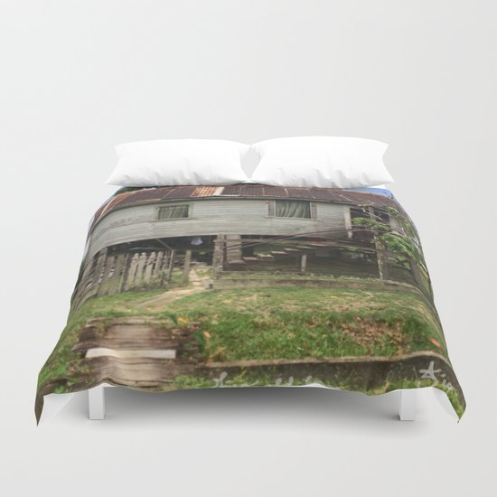 This Old House Again Duvet Cover