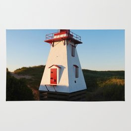 Lighthouse in the Dunes Rug