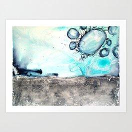 Mixed Media 417 Art Print