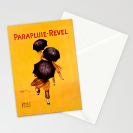 Leonetto Cappiello Revel Umbrella Advertising Poster Stationery Cards