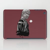 rick grimes iPad Cases featuring The Walking Dead Rick Grimes by Cursed Rose