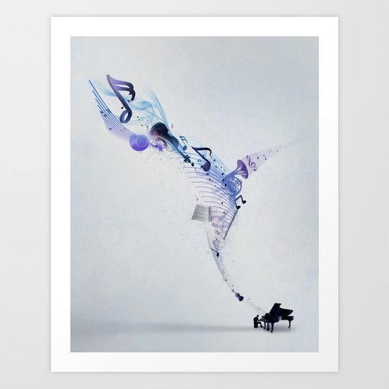 Perfect Harmony  Art Print