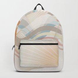 Winter Ocean Backpack