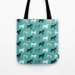 French Bulldog pattern dog breed must have gifts for frenchie owner pillows decor Tote Bag