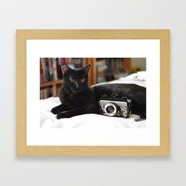 Olive Framed Art Print