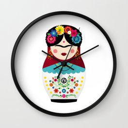 Frida's a DOLL Wall Clock