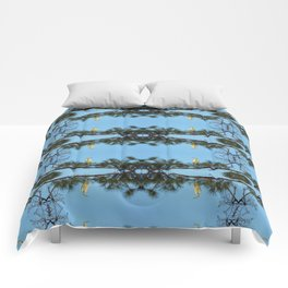 White Egret 2 Comforters