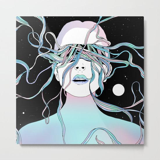 I See My Dreams and Memories Collide Metal Print