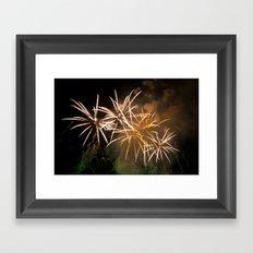 Explosions In The Sky 221 Framed Art Print