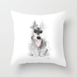Summer in the Highlands Throw Pillow