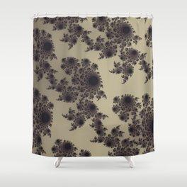 Fractal geometric designs. The beauty of randomness Shower Curtain
