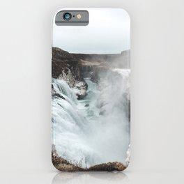 Gullfoss - Landscape Photography iPhone Case