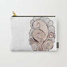 Spiral Growth Carry-All Pouch
