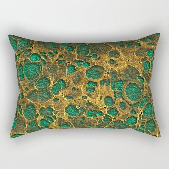 Golden Marble 04 Rectangular Pillow