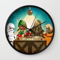 poker Wall Clocks featuring Poker by Matt Sinor