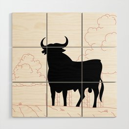 El Toro Wood Wall Art
