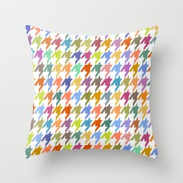 Houndstooth!  Throw Pillow