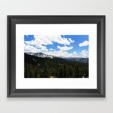 Berthoud Pass Framed Art Print