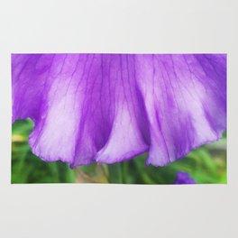 499 - Purple Iris Abstract Rug