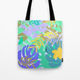 Soft tropical Tote Bag