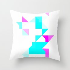 Project Map Throw Pillow