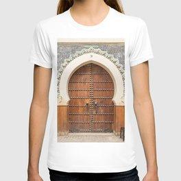 Doorway Number 30 - Fes, Morocco T-shirt