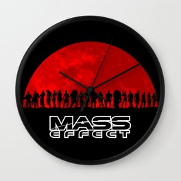 Mass Effect Wall Clock