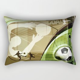 Soccer Rectangular Pillow