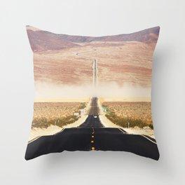 Serine Road Throw Pillow