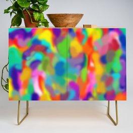 """Rainbow """"Watercolor"""" Credenza"""