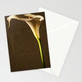 White Flower - Cala Stationery Cards