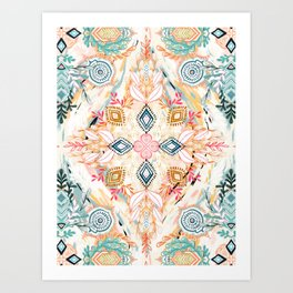 Wonderland in Spring Art Print