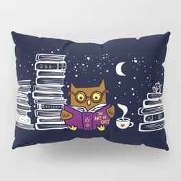 Owl Night Reader Pillow Sham