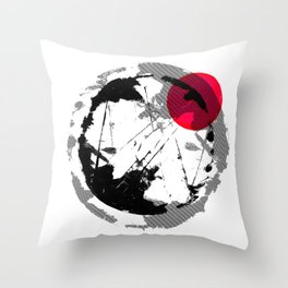 'UNTITLED #10' Throw Pillow